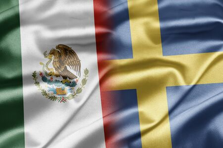 Mexico and Sweden Stock Photo - 16996808