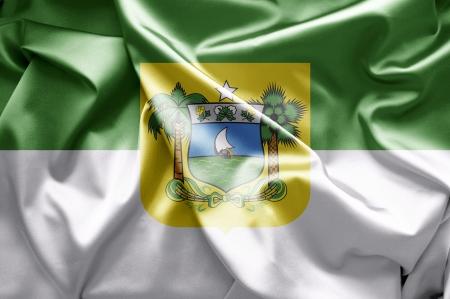 lia: Flags of Rio Grande do Norte Stock Photo