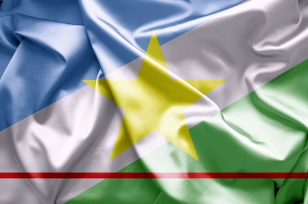 lia: Flags of Roraima Stock Photo