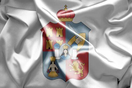 tabasco: Flag of Tabasco Stock Photo