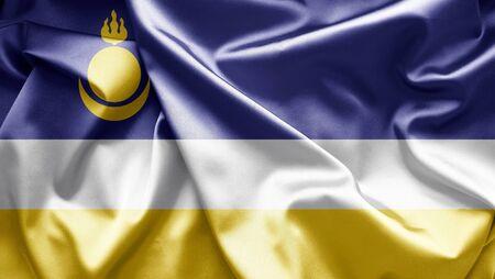 buryatia: Flag of Buryatia