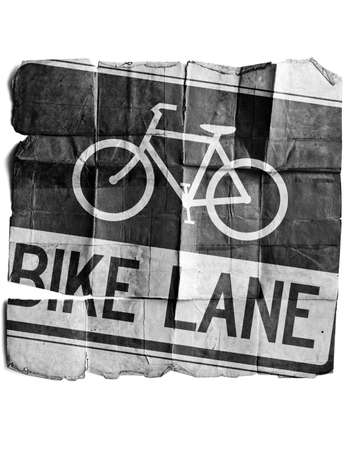 Bike Lane Stock Photo - 17463208