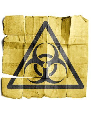 Biohazard Sign Stock Photo - 17463234