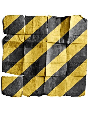Yellow and black lines Stock Photo - 17463278