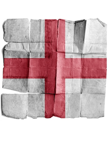britan: England sign on old paper.