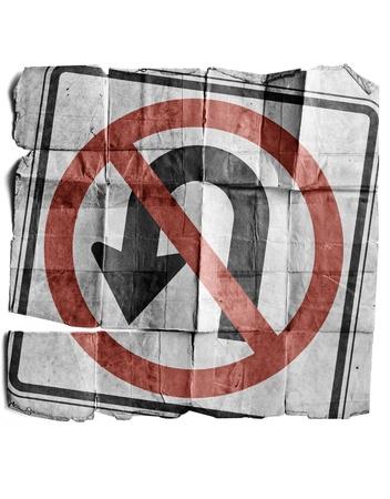 no u turn sign: No U-Turns