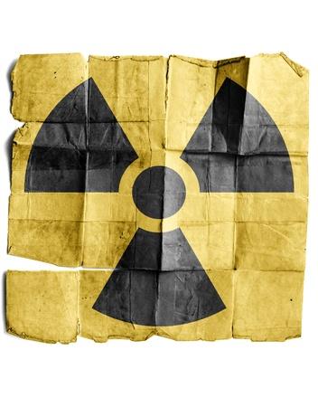irradiation: Radiation Sign