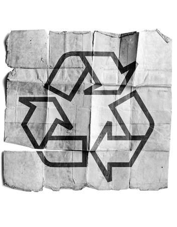 Recycle symbol Stock Photo - 17463132