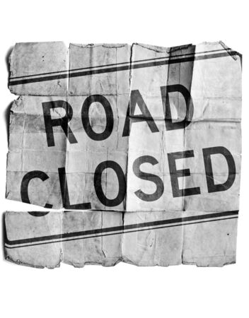 Road closed Stock Photo - 17463154