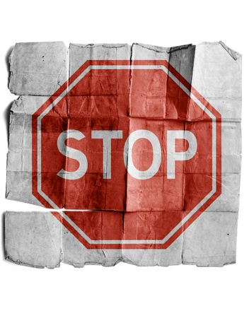 Stop sign Stock Photo - 17463156