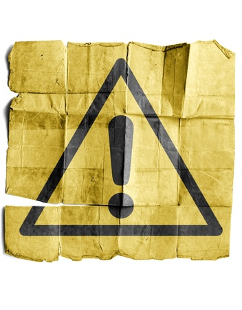 Warning Sign Stock Photo - 17463200