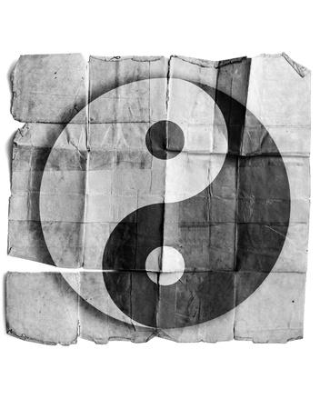 Ying yang symbol photo