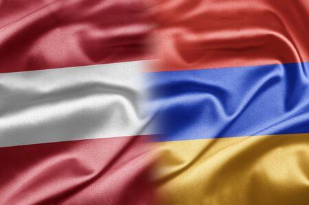 Austria and Armenia Stock Photo - 17518091