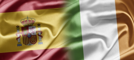 Spain and Ireland Stock Photo - 17517051