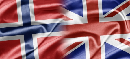 Norway and UK Stock Photo