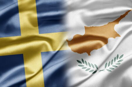 Sweden and Cyprus Stock Photo - 17518493