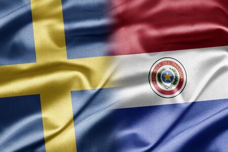 Paraguay: La Su�de et le Paraguay Banque d'images
