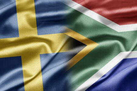 Sweden and South Africa Stock Photo - 17518551