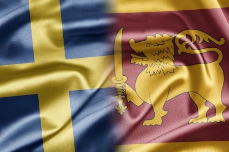 Sweden and Sri Lanka Stock Photo - 17518448