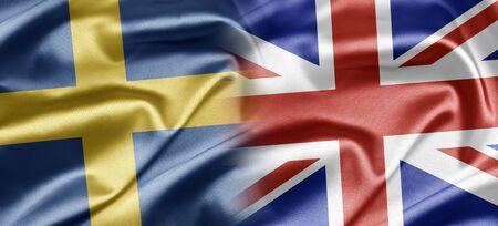 britan: Sweden and UK Stock Photo