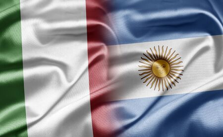 argentina flag: Italy and Argentina