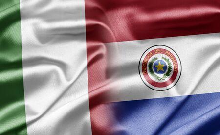 Paraguay: Italie et le Paraguay Banque d'images