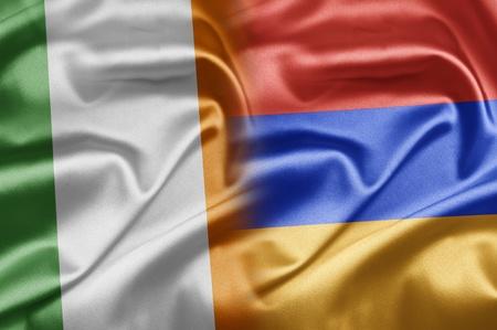 Ireland and Armenia Stock Photo - 17612979