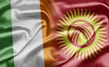 kyrgyzstan: Irlanda y Kirguist�n Foto de archivo