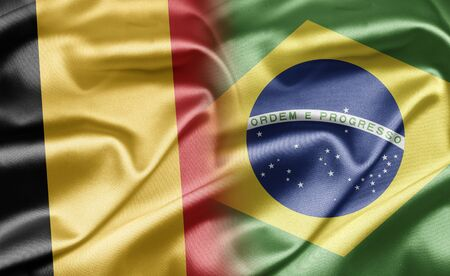 belgium flag: Belgium and Brazil