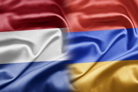 Netherlands and Armenia Stock Photo - 17705590