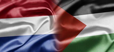 palestinian: Netherlands and Palestine Stock Photo