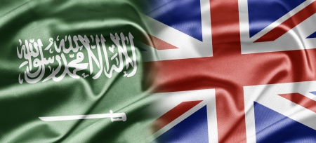 britan: Saudi Arabia and UK Stock Photo
