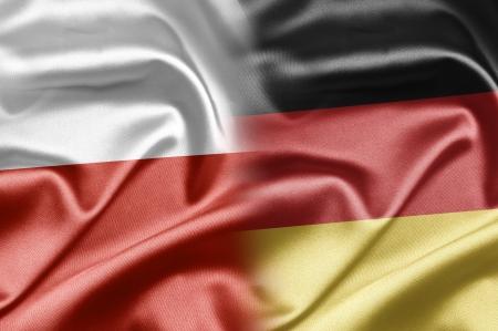 Poland and Germany Stock Photo
