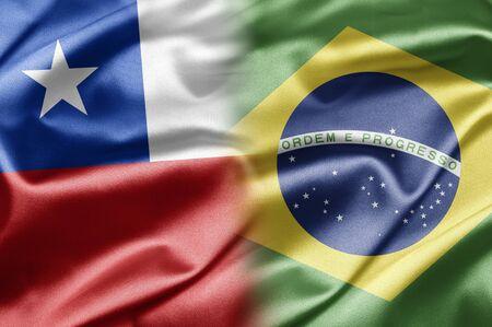 bandera chilena: Chile y Brasil