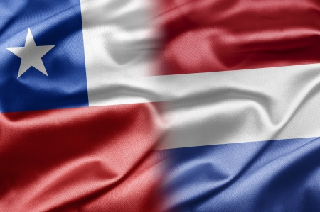 Chile and Netherlands Stock Photo - 17828893