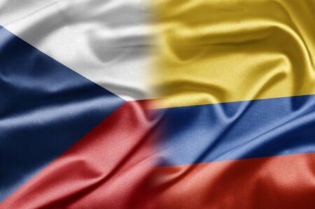 República Checa y Colombia Foto de archivo - 17829090