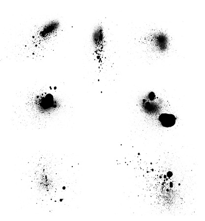 Set of blots photo