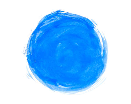 Abstract watercolor circle photo