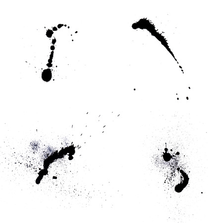 Ink blots Stock Photo - 23099101