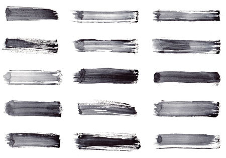 Grunge stripes  Set 15 in 1 Stock Photo - 23132820