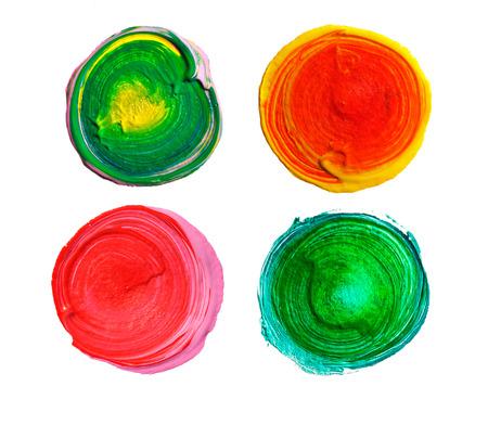 wet paint: Design elements. 4 Circle