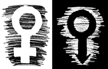man and woman sex: Grunge Sex Symbol