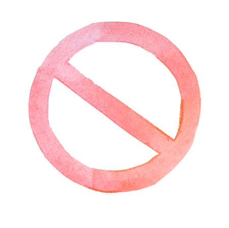 single entry: Not Allowed Sign