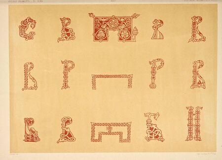 Art-object. Old image Standard-Bild