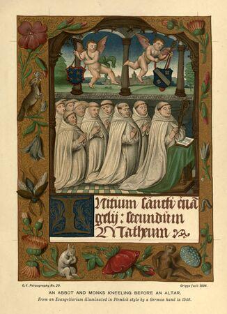 Christliches Buch. Altes Bild
