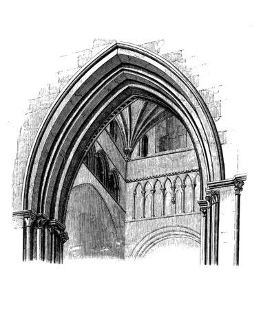 Église et cathédrale. architecture chrétienne