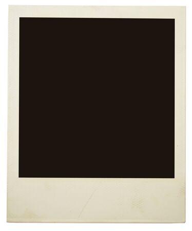 Marco de fotos aisladas en blanco Foto de archivo - 11153490