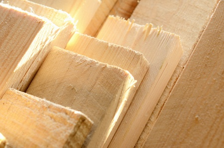 stack of a wooden planks