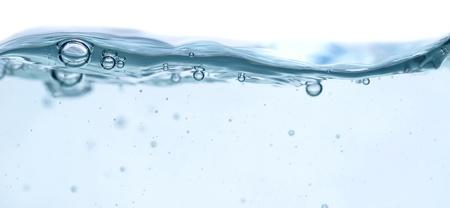 water splash geïsoleerd op wit