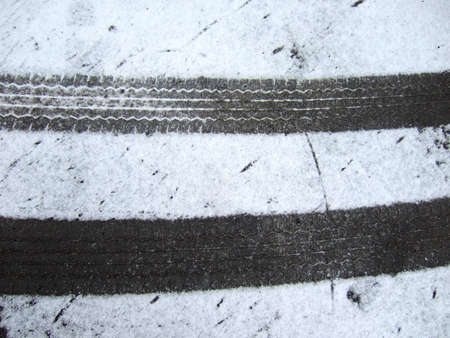 close up of tire track Stock Photo - 16515807